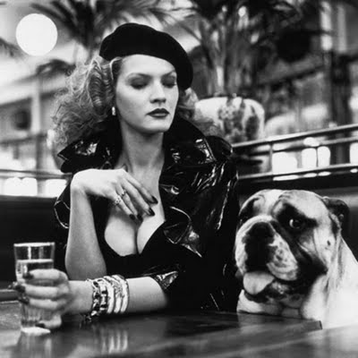 Image credit: Helmut Newton - Woman and dog