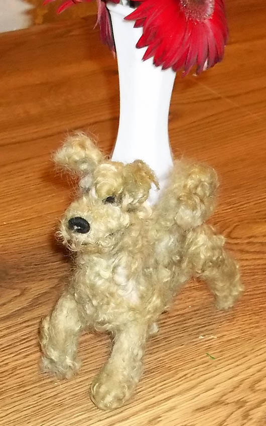 Little Pumi dog KathysCraftShop