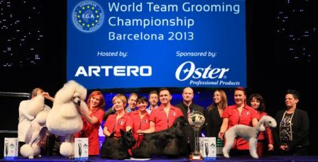 FRANCIA - World Team Grooming Championship Barcelona 2013