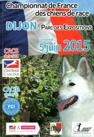 Championnat de France 2015 couverture catalogue