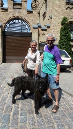 BOB - Alpha Lupi Von Vorwitz (Berger de Picardie) and Mr & Mrs Paul K. (Poland)