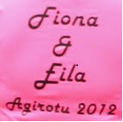 Fiona & Eila - pink ladies