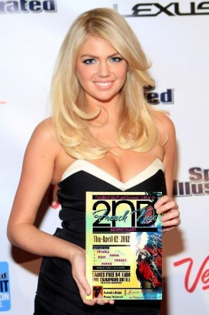 Kate Upton, special guest at 2nd anniversary party Felallo-Fulu Pumi litter A, April 12.2012