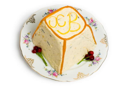 In Russia, Paskha (Russian cheese cake) is made from Tvorog, a sweet farmers' cheese.
