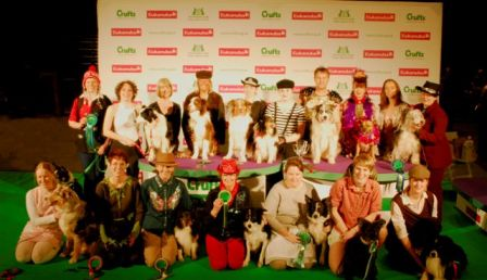CRUFTS International Freestyle final : Saturday 10th March 2012 - The International Competitors and Judges